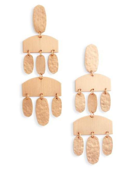 Kendra Scott | Metallic Emmet Drop Earrings | Lyst