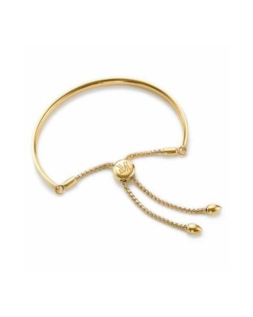 Monica Vinader - Yellow 'fiji' Chain Bracelet - Lyst