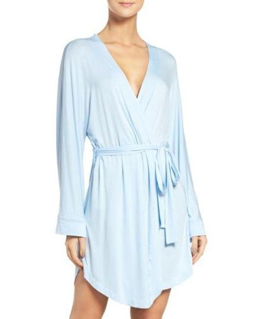 Honeydew Intimates | Blue Jersey Robe | Lyst