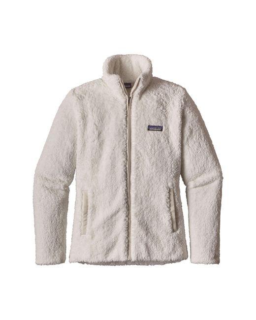 Patagonia - White Los Gatos Fleece Jacket - Lyst