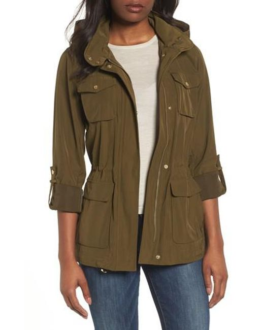 Vince Camuto - Blue Americana Parka - Lyst