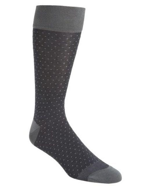 Calibrate - Black Dot Socks for Men - Lyst