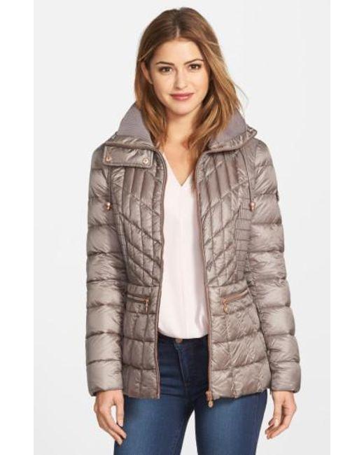 Bernardo   Gray Packable Jacket With Down & Primaloft Fill, Grey   Lyst