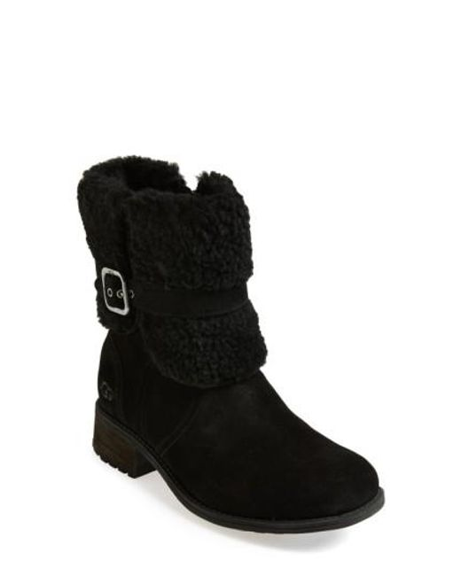 Ugg | Black 'blayre' Water Resistant Boot | Lyst