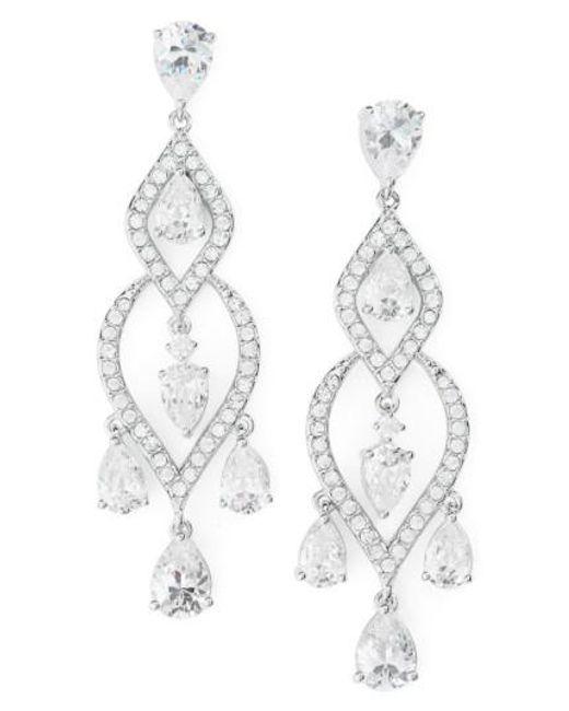 Nadri | Metallic Legacy Chandelier Earrings | Lyst