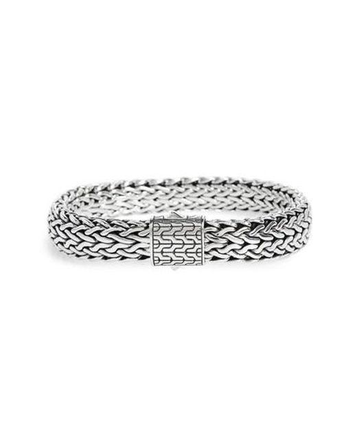 John Hardy | Metallic Classic Chain Large Flat Chain Bracelet | Lyst