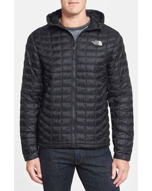 The North Face | Black 'thermoball(tm)' Primaloft Hoodie Jacket for Men | Lyst