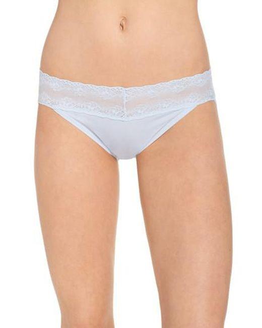 Natori - Blue Bliss Perfection Bikini - Lyst