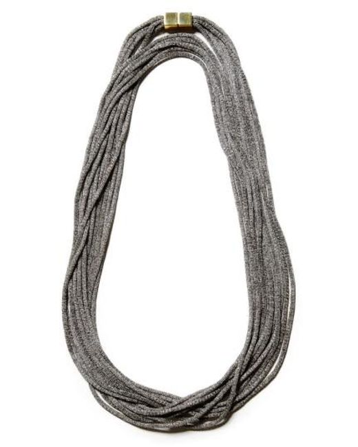 Lafayette 148 New York | Multicolor Mesh Chain Multistrand Necklace | Lyst