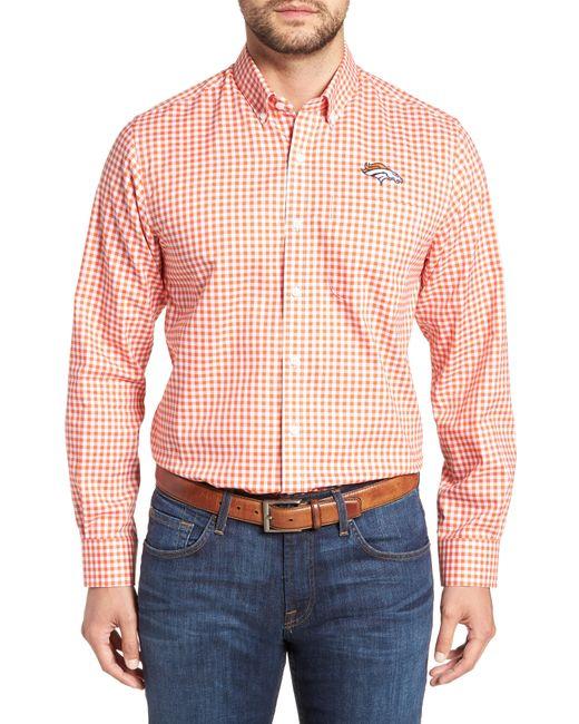 Cutter & Buck - Pink League Denver Broncos Regular Fit Shirt for Men - Lyst