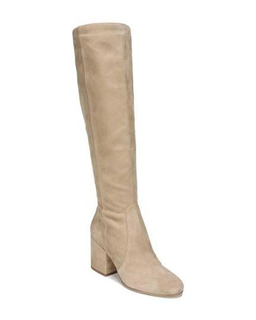 Sam Edelman   Natural Thora Knee High Boot   Lyst