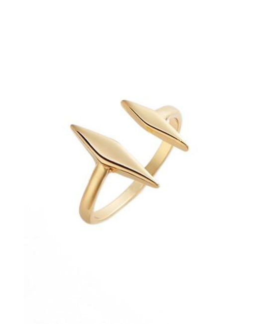 Uncommon James by Kristin Cavallari - Metallic Windsor Open Ring - Lyst