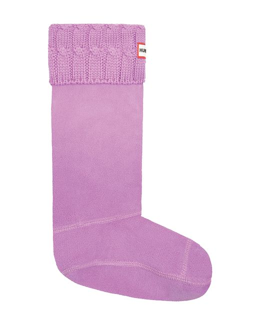 Hunter - Multicolor Original Tall Cable Knit Cuff Welly Boot Socks - Lyst