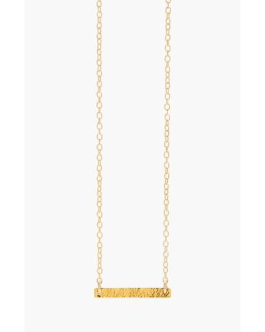 Gorjana | Metallic 'knox' Pendant Necklace | Lyst