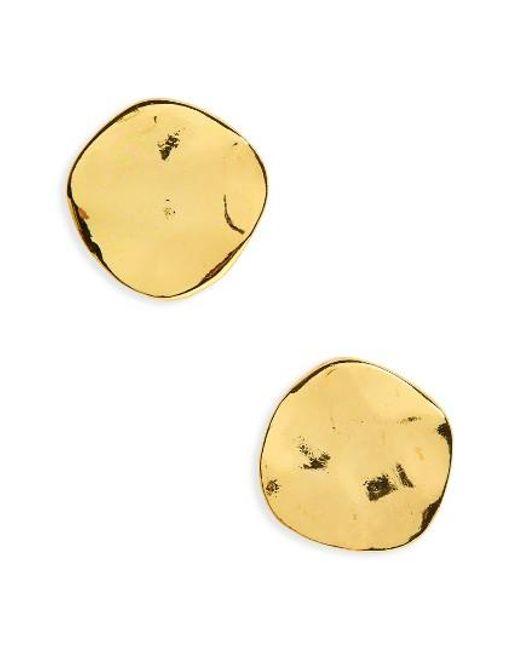 Gorjana   Metallic 'chloe' Small Stud Earrings   Lyst
