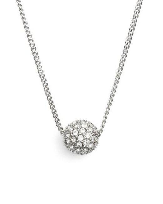 Givenchy | Metallic 'fireball' Pendant Necklace | Lyst