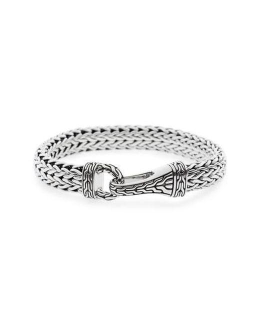 John Hardy - Metallic Classic Chain Silver Hook Bracelet for Men - Lyst