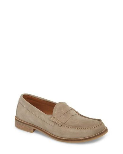 Pajar - Natural Wayne Textured Penny Loafer - Lyst