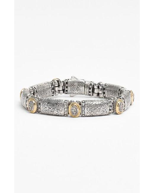Konstantino | Metallic 'classics' Diamond Bracelet | Lyst