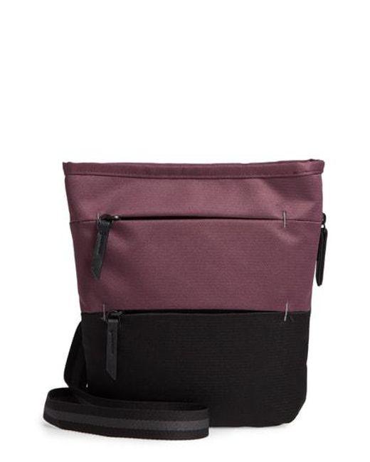 Nordstrom Purple Sa Medium Rfid Crossbody Bag Lyst