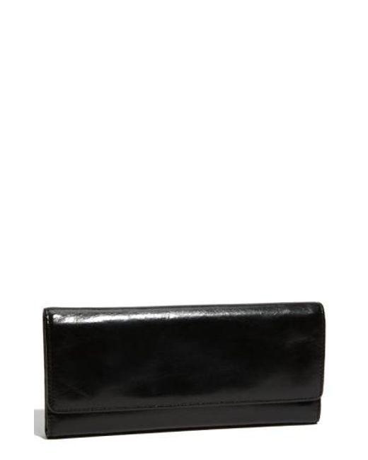 Hobo | Black 'sadie' Leather Wallet | Lyst