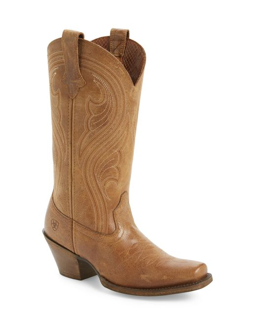 Ariat - Brown Lively Western Boot - Lyst