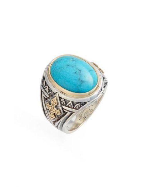 Konstantino | Metallic Heonos Turquoise Ring | Lyst