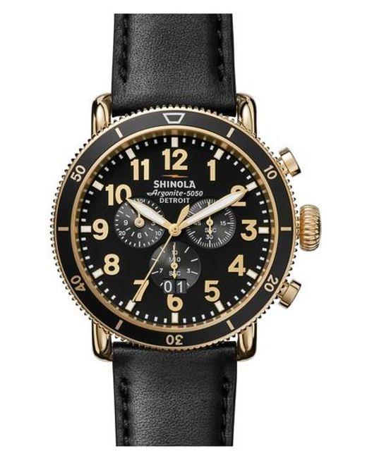 Shinola | Multicolor The Runwell Sport Chronograph Watch for Men | Lyst
