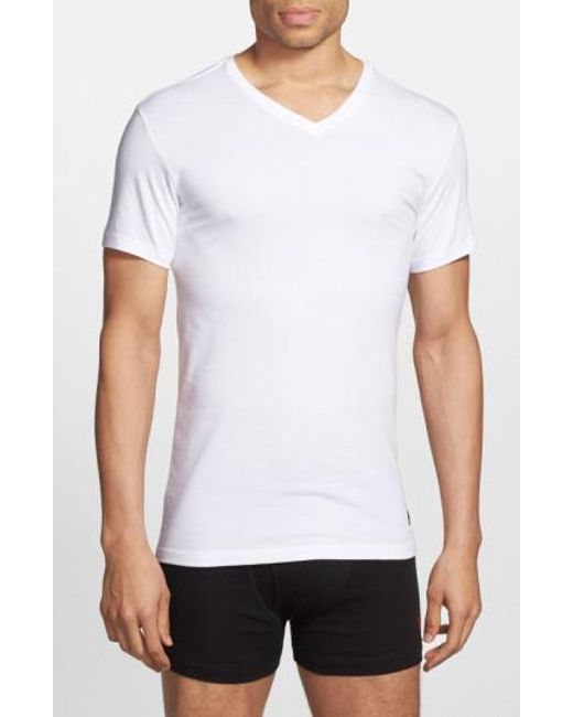 Polo Ralph Lauren - Natural 3-pack Trim Fit T-shirt, White for Men - Lyst