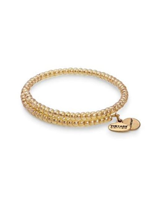 ALEX AND ANI | Metallic Primal Spirit Wrap Bracelet | Lyst