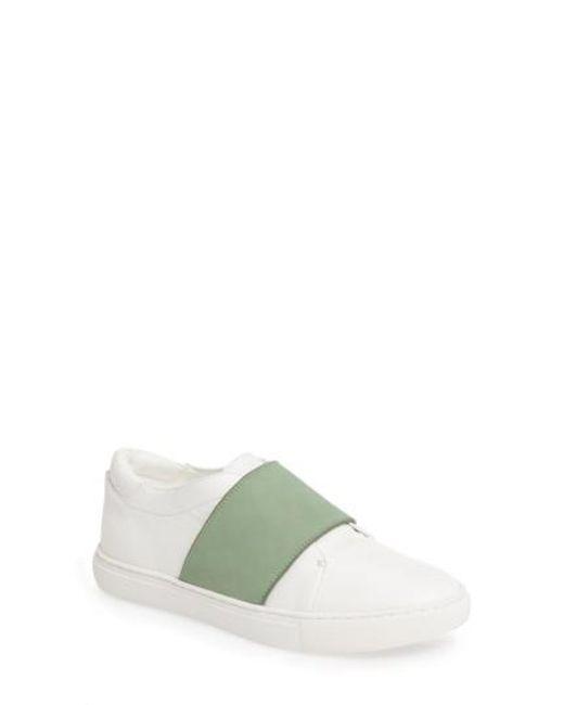 Kenneth Cole   Green Konner Slip-on Sneaker   Lyst