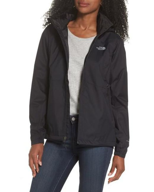 The North Face - Black Resolve Plus Water-Resistant Jacket - Lyst