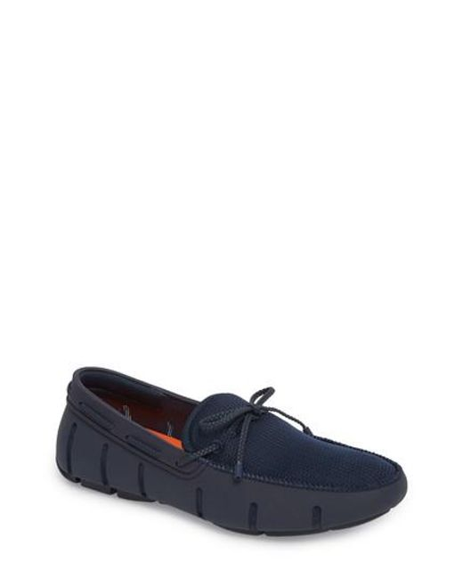 Swims - Blue Lace Loafer for Men - Lyst