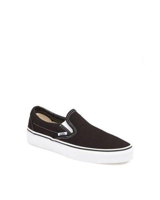 Vans - Black Classic Slip-on Sneaker - Lyst