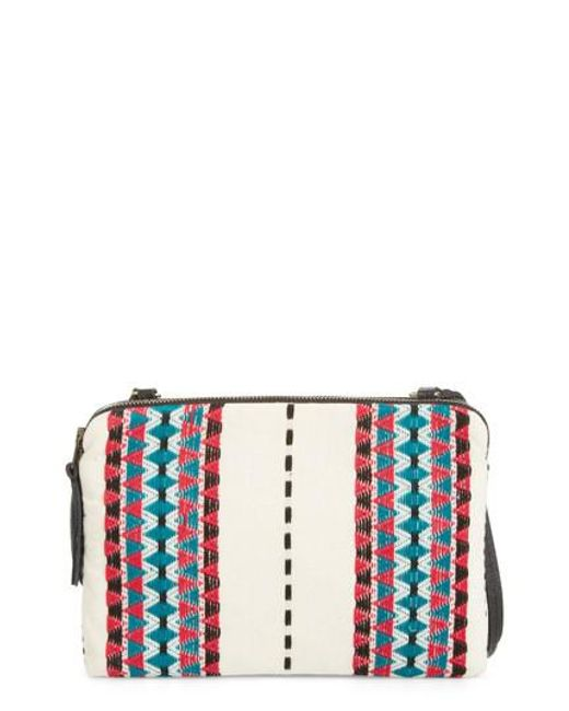 Mercado Global | Red Andrea Canvas Crossbody Bag | Lyst