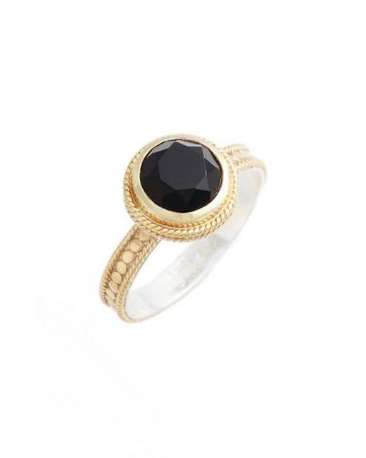 Anna Beck | Metallic Semiprecious Stone Ring | Lyst