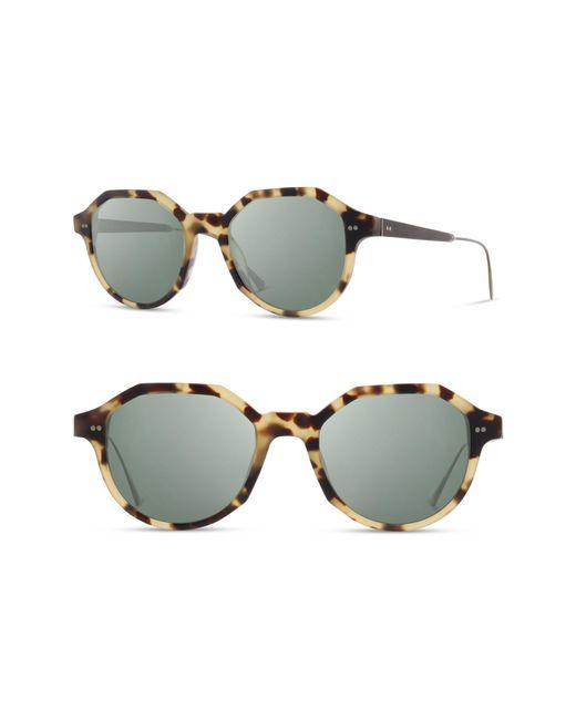Shwood - Multicolor Powell 50mm Polarized Geometric Sunglasses - - Lyst