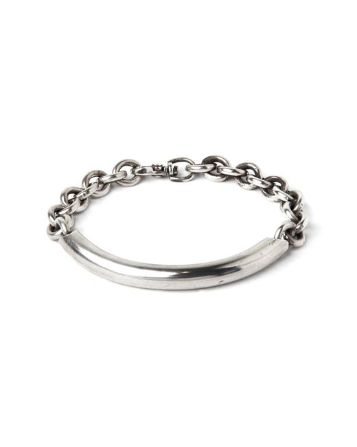 Title Of Work - Metallic Round Cable Bracelet for Men - Lyst