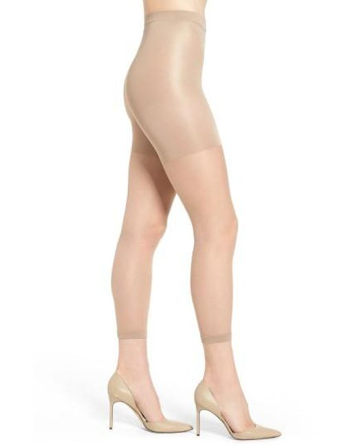 Spanx - Natural Spanx Power Capri Control Top Footless Pantyhose - Lyst
