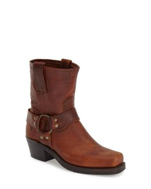 Frye - Brown 'Harness 8R' Boot - Lyst