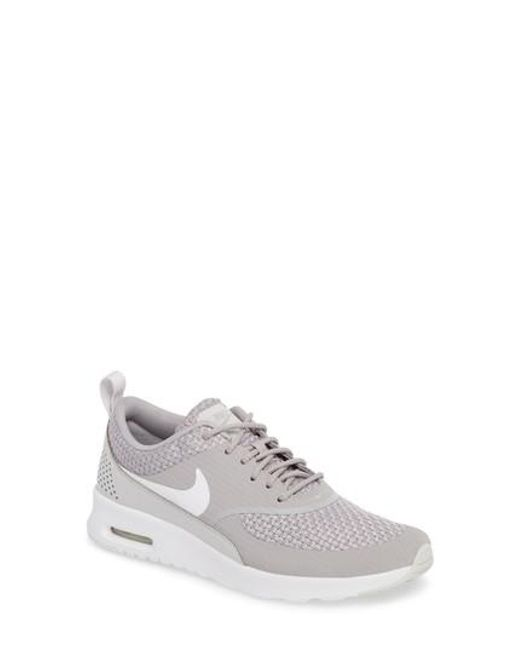 newest fa882 13b52 ... coupon code for nike gray air max thea sneaker lyst 31db1 a779a