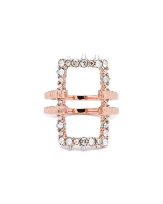 Alexis Bittar | Metallic Elements Rectangle Ring | Lyst