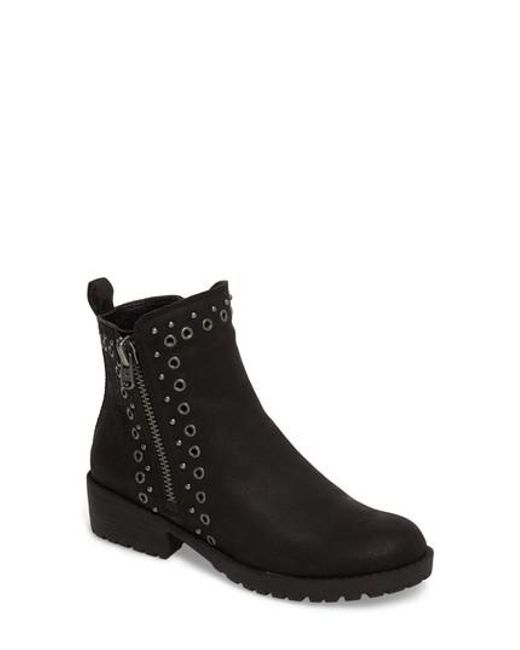 Lucky Brand   Black Hannie Embellished Bootie   Lyst