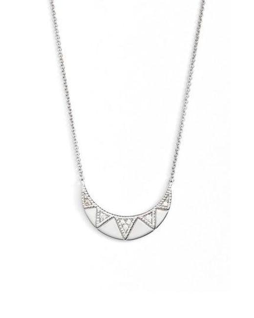 Dana Rebecca | Metallic Jeanie Ann Diamond Pendant Necklace | Lyst