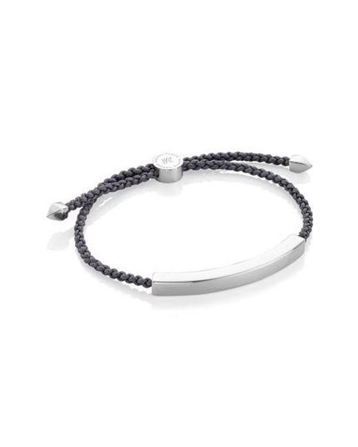 Monica Vinader | Metallic Large Linear Friendship Bracelet | Lyst