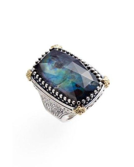 Konstantino - Blue Cassiopeia Semiprecious Doublet Ring - Lyst