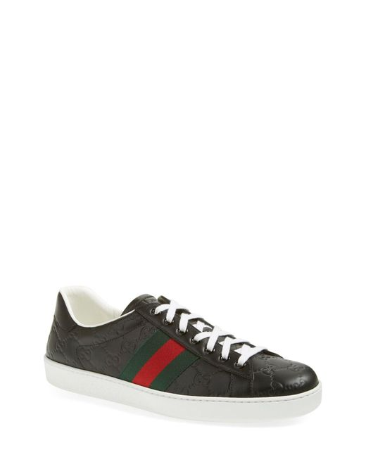 c41283c8ad9 Gucci - Multicolor New Ace Gg Supreme Sneaker for Men - Lyst ...