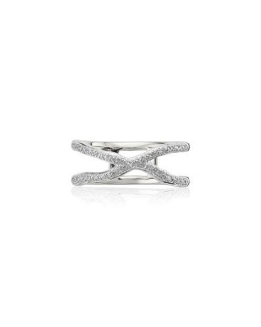 Monica Vinader | Metallic Riva Diamond Ring | Lyst