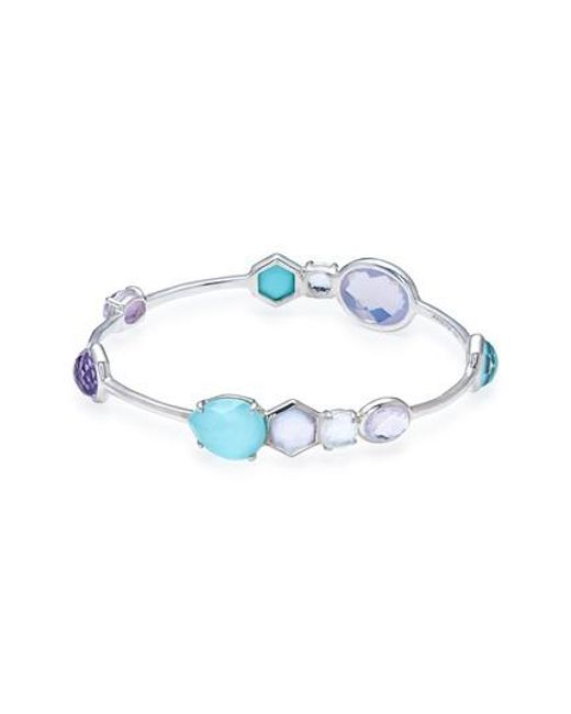 Ippolita 18K Rock Candy Gelato Station Bangle lcDakufhi