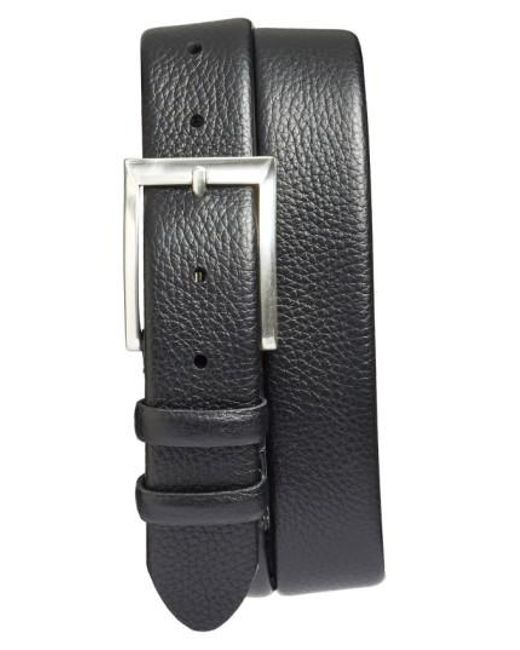 Bosca - Black 'tribeca' Leather Belt for Men - Lyst